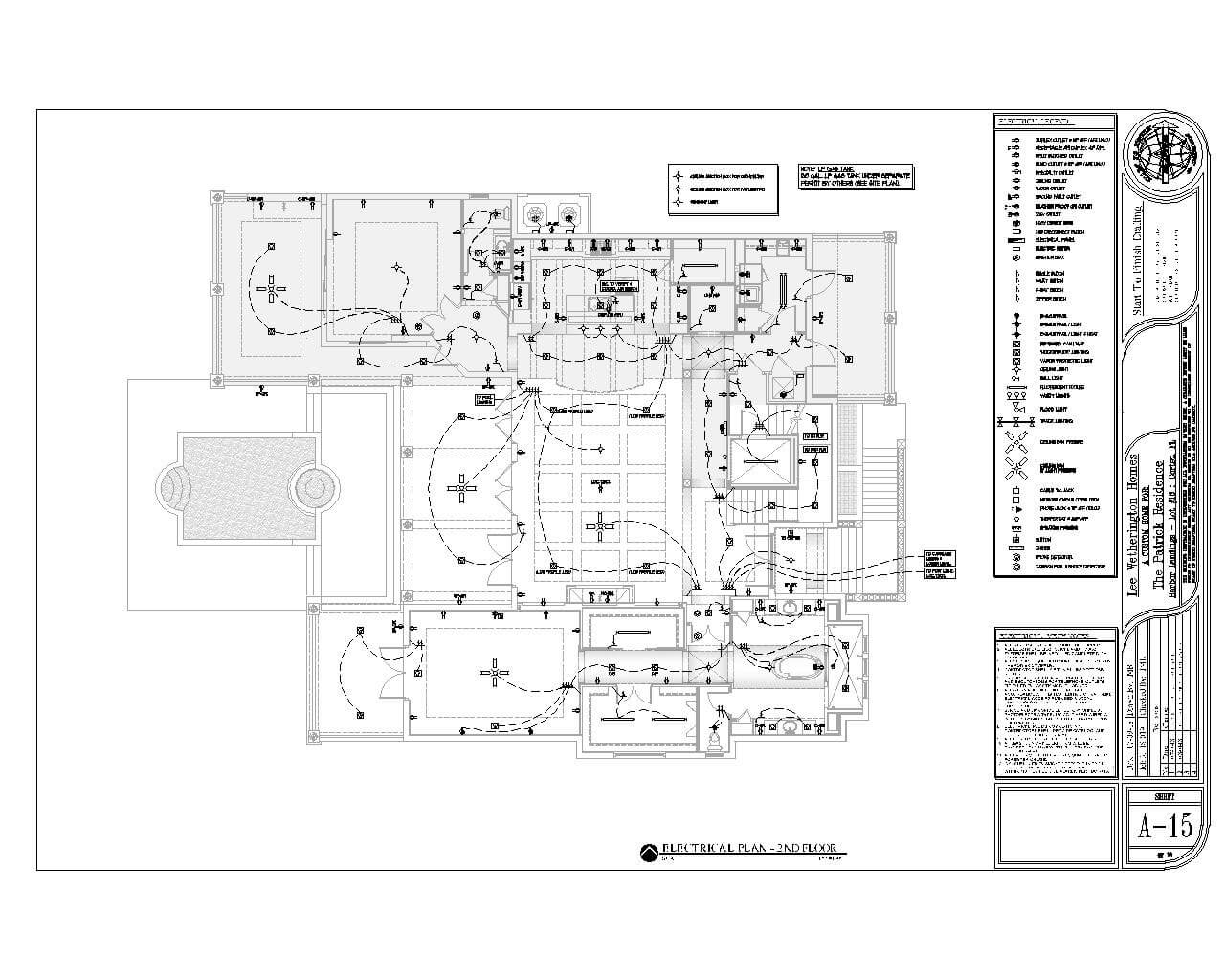 As Built Plans Drafting And Design Residential House Floor Plans Stfdd